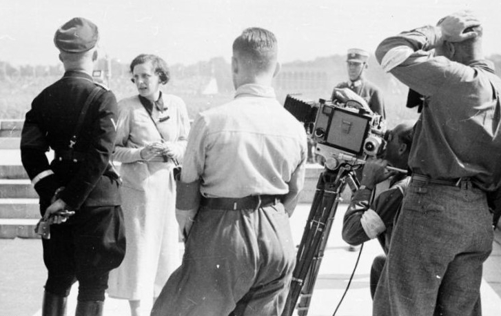 Filming of The Triumph of the Will