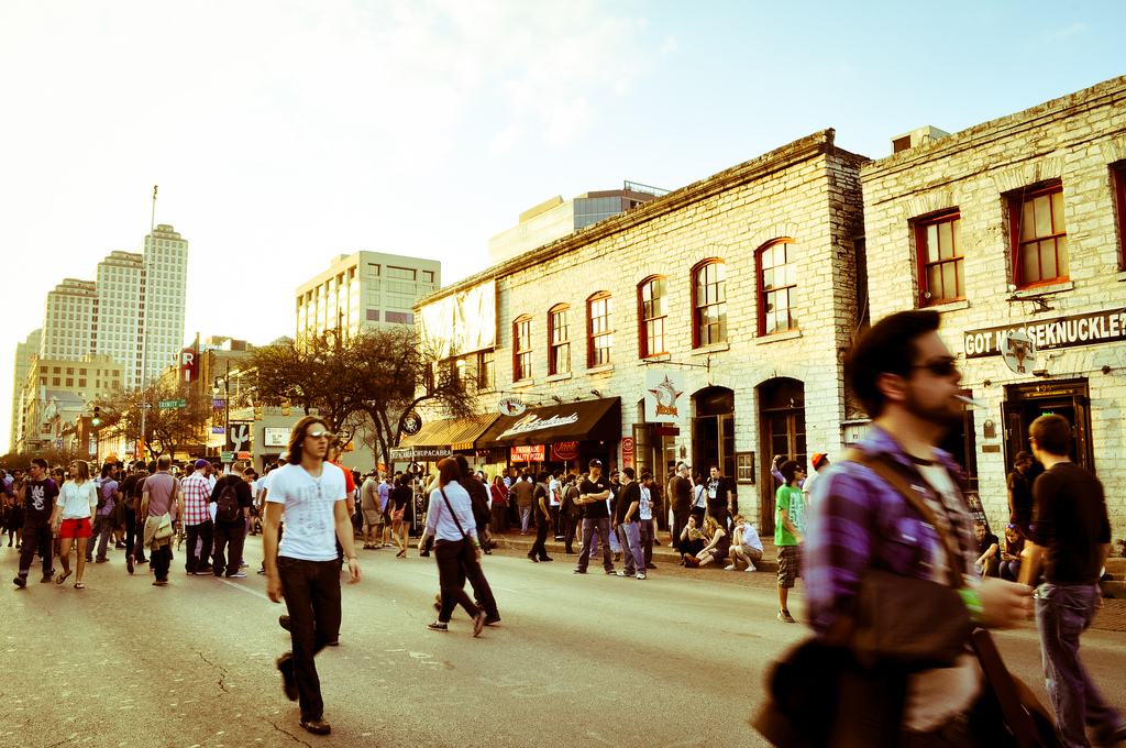 Lovers of film, music, and technology descend on downtown Austin over the course of the weeks-long SXSW Festival.